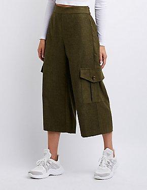 Cargo Culotte Pants