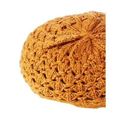 Open Knit Beret