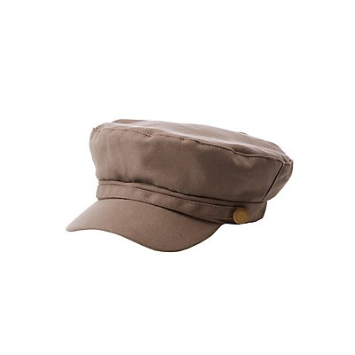 Twill Newsboy Hat