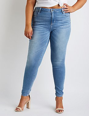 Plus Size Cello Skinny Jeans