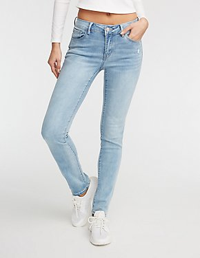 Refuge Light Wash Straight leg Denim