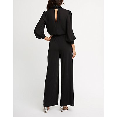 Wrap Wide Leg Jumpsuit