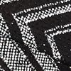 Plus Size Geometric Glitter Bodycon Dress
