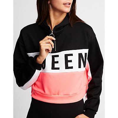 Color Block Queen Sweater