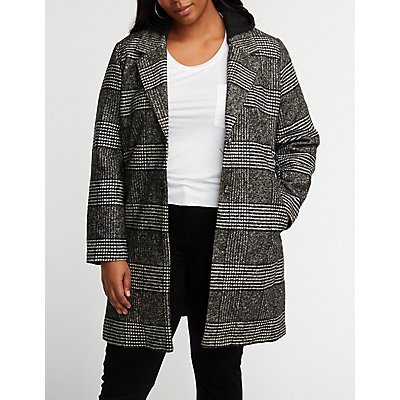 Plus Size Jackets Coats Blazers Bomber Leather Charlotte Russe