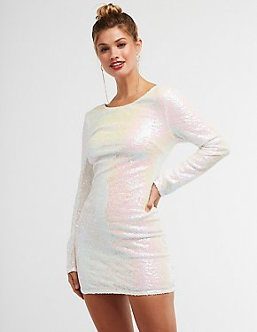 Sequins Bodycon Dress