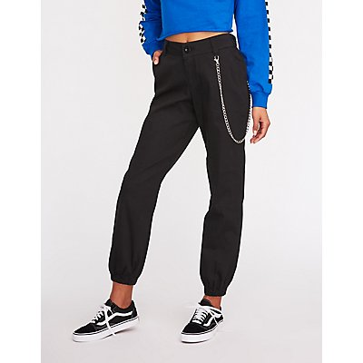 Chain Link Joggers