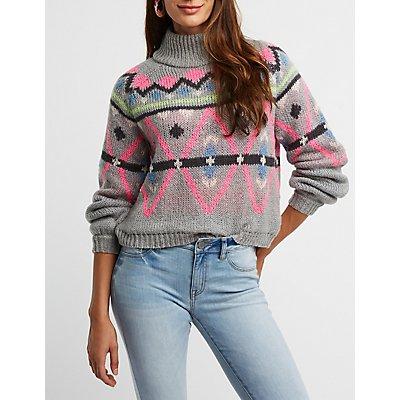 Turtleneck Pullover Sweater