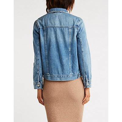 Refuge Light Wash Denim Jacket