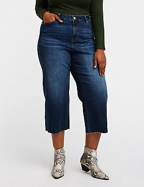 Plus Size Refuge Wide Leg Jeans