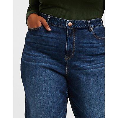 Plus Size Refuge Wide Leg Jeans