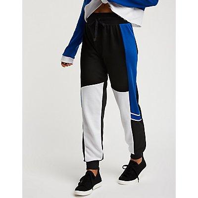Colorblock Jogger Pants