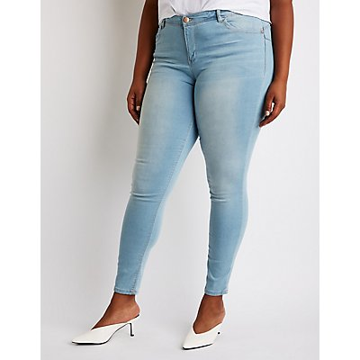 Plus Size Dollhouse Skinny Jeans