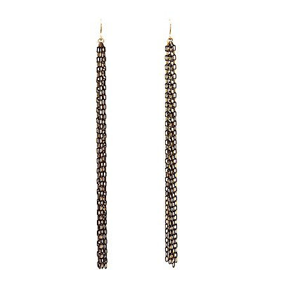 Fringe Chainlink Drop Earrings