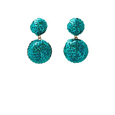 Sequins Drop Earrings