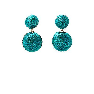Sequins Drop Earrings