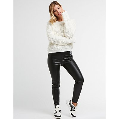 Scoop Neck Knit Sweater