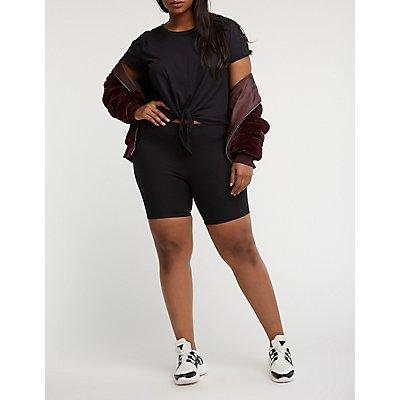 Plus Size Bike Shorts