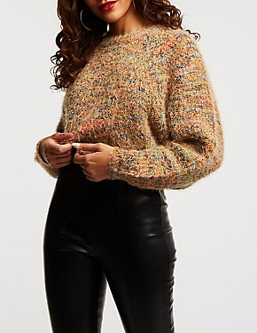 Multicolor Pullover Sweater