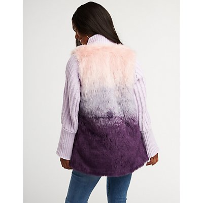 Faux Fur Longline Vest