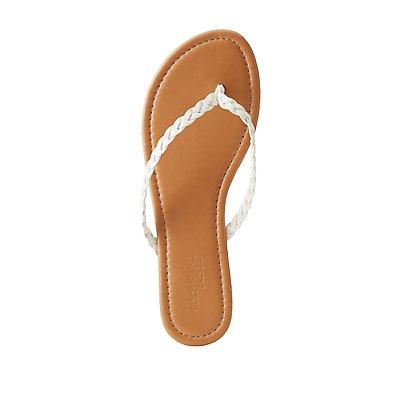 Braided Flip Flops
