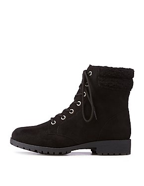 Bamboo Sherpa Combat Boots