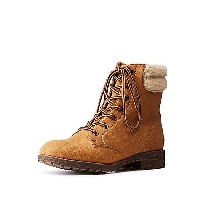 Bamboo Sherpa Combat Boots
