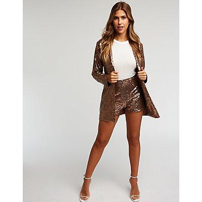 Sequin Hot Pants