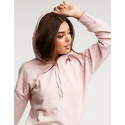Hooded Tunic Sweatshirt