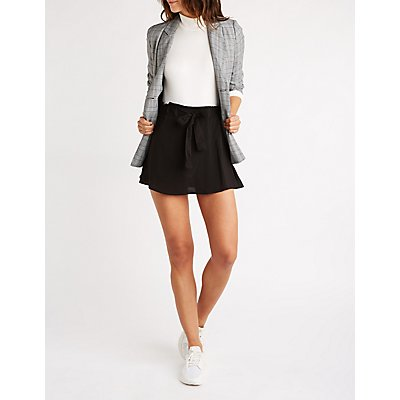 Paperbag Self Tie Skirt