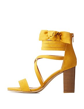 Bow Ankle Strap Sandals