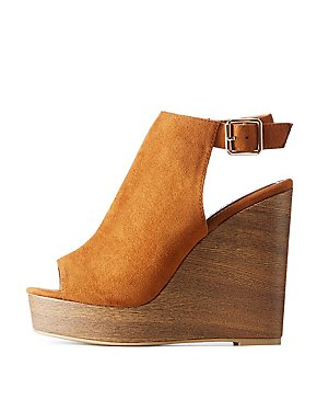 Open Toe Wedge Sandals