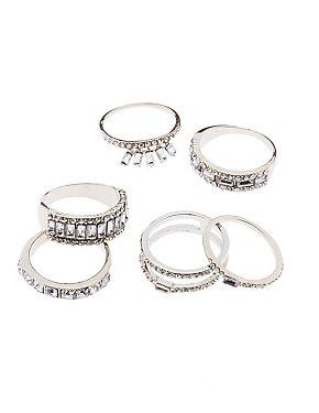 Crystal Stacking Rings