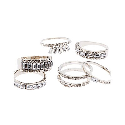 Crystal Stacking Rings