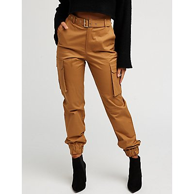 Belted Cago Pants