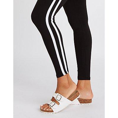 Varsity Striped Leggings