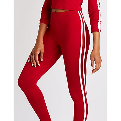 Varsity Striped Leggings