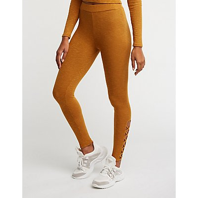 Caged High Waist Leggings