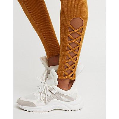 Caged High Waist Leggings