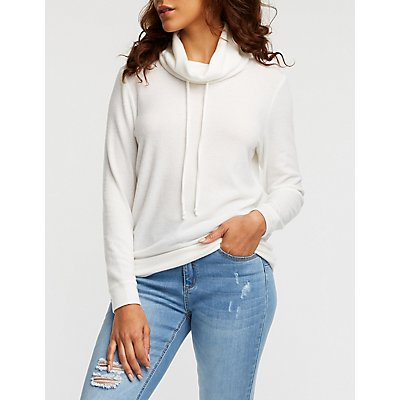 Funnel Neck Pullover
