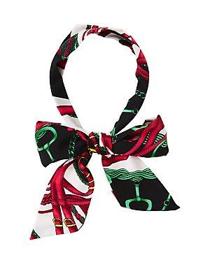 Printed Tie Headband