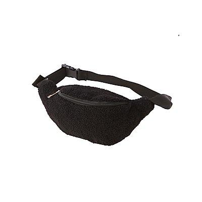 Faux Sherpa Belt Bag
