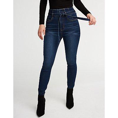 Hi Waist Skinny Jeans