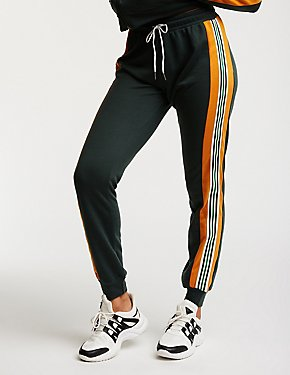 Colorblock Drawstring Track Pants