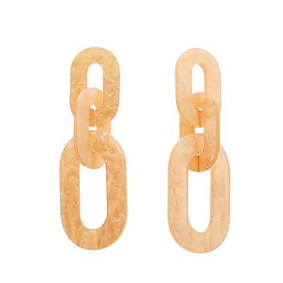 Resin Linked Drop Earrings