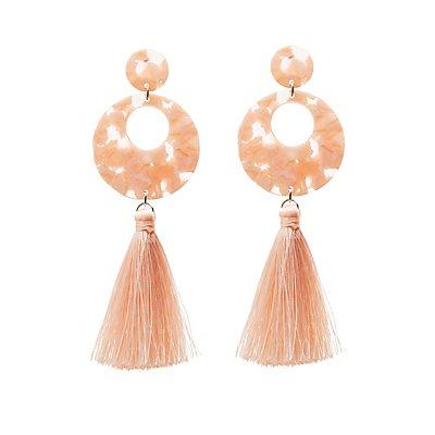 Resin Tassel Earrings