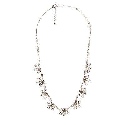 Crystal Petal Necklace