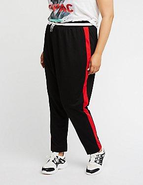 Plus Size Colorblock Pants
