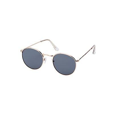 Circle Metal Sunglasses