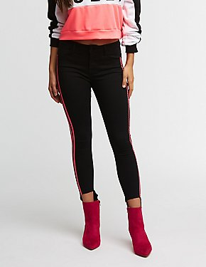 Cello Side Striped Skinny Jeans